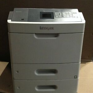Lexmark-MS810dn-Monochrome-Laser-Printer-w-2-trays-246-089-pages-count-toner