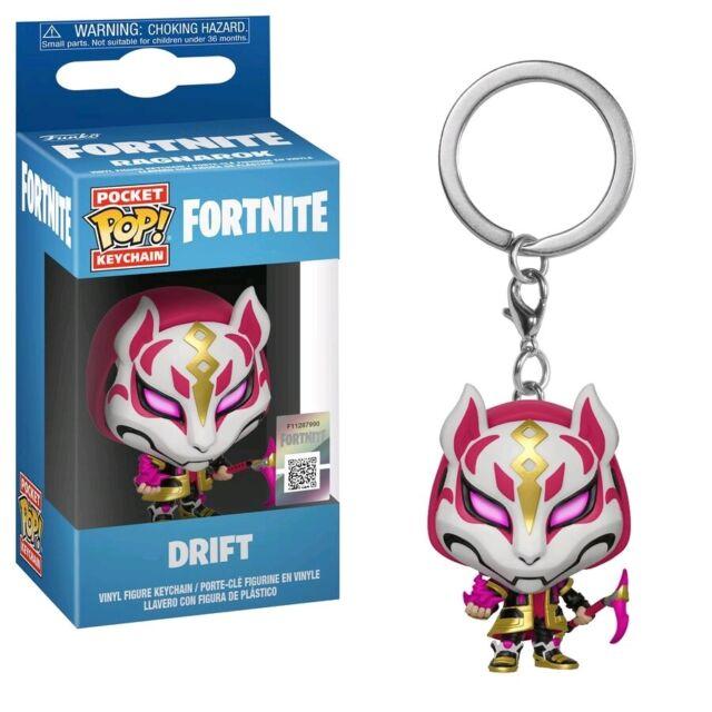 Keychains--Fortnite - Drift Pocket Pop! Keychain
