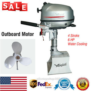 Image Is Loading 6 Hp Outboard Motor 4 Stroke Outboard Engine