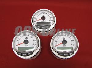 Details about Mercury SmartCraft SC1000 WHT 2 Tachometer/ Speedometer  8M0135626 SS 8M0101089