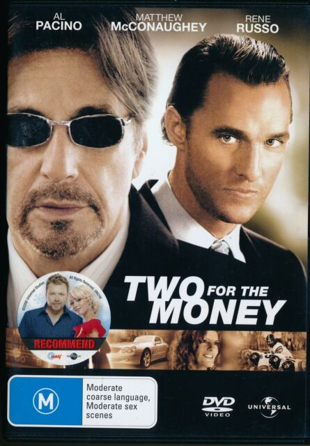 TWO FOR THE MONEY DVD