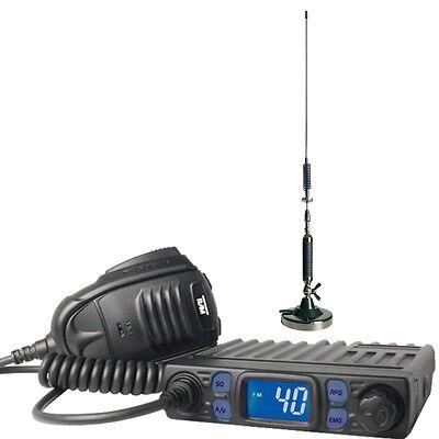 Cb Set Team Minicom Mit Magnetantenne Hunter Mag 73 Cm Lang Handys & Kommunikation Cb-funkgeräte Gute WäRmeerhaltung