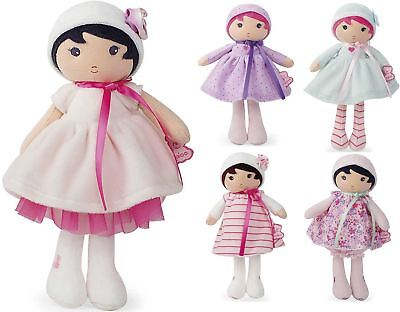 Ingenious Kaloo My First Doll Baby/toddler/child Soft Toy Azure/fleur/rose/perle Bn At All Costs Plush Baby Toys Toys For Baby