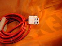 Icom Ic-7000 Ic-7200 Ic-7410 Ic-7600 Ic-9100 4 Pin Dc Power Cord