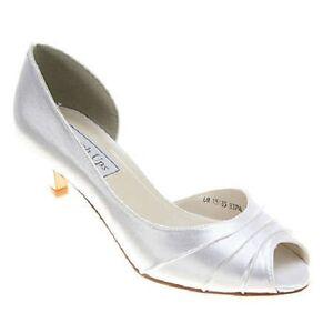 Touch-Ups-Benjamin-Walk-Abby-D-039-Orsay-Pump-White-Dyable-Wedding-Womens-6-NIB-68