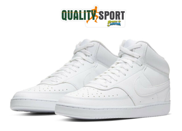 Nike Court Vision Mid Bianco Scarpe Shoes Uomo Sportive