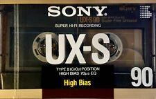 TYPE II Tape SEALED NEU /& OVP TOP Sony UX-S 90 IEC II