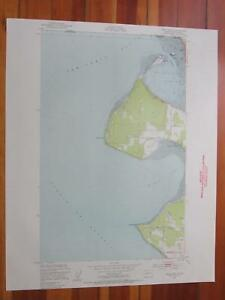 Birch Point Washington 1954 Original Vintage Usgs Topo Map Ebay