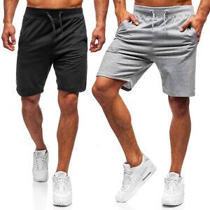 Shorts Kurzhose Sporthose Bermudas Kurze Basic Unifarben Herren