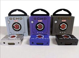 NEW-GCHD-MARK-2-HDMI-amp-Componet-Adapter-Nintendo-Gamecube-PLUG-amp-PLAY-FREE-GIFT