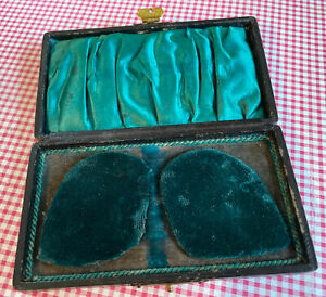 Antique Jewellery Display Box Necklace Watch Medal Storage Boxes Faux Leather