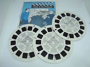 NANNY AND THE PROFESSOR 3 Reels and Booklet. Excellent Condition!