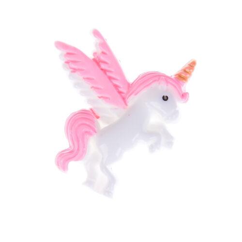 5pcs Pegasus flatback resin cabochon for Diy phone deco scrapbooking FEH