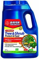 Bayer Advanced 701910 12 Months Tree And Shrub Protect And Feed Granules, 10-pou on sale