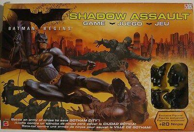 Batman Begins Shadow Assault Game SEALED NEW