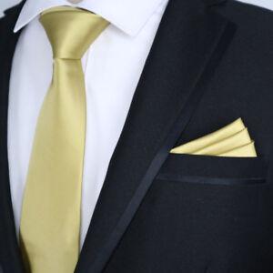 Image Is Loading Exclusive Solid 7cm Silk Mens Tie Handkerchief Set