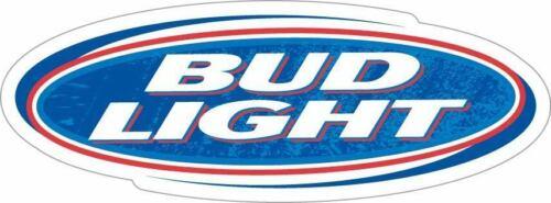 "BUD LIGHT Sticker Decal Beer Bumper Window Bar CHOOSE SIZE 3/""-12/"""