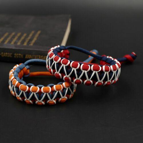 Adjustable Paracord Bracelet Glow In The Dark Bracelets Survival Cord Wristband