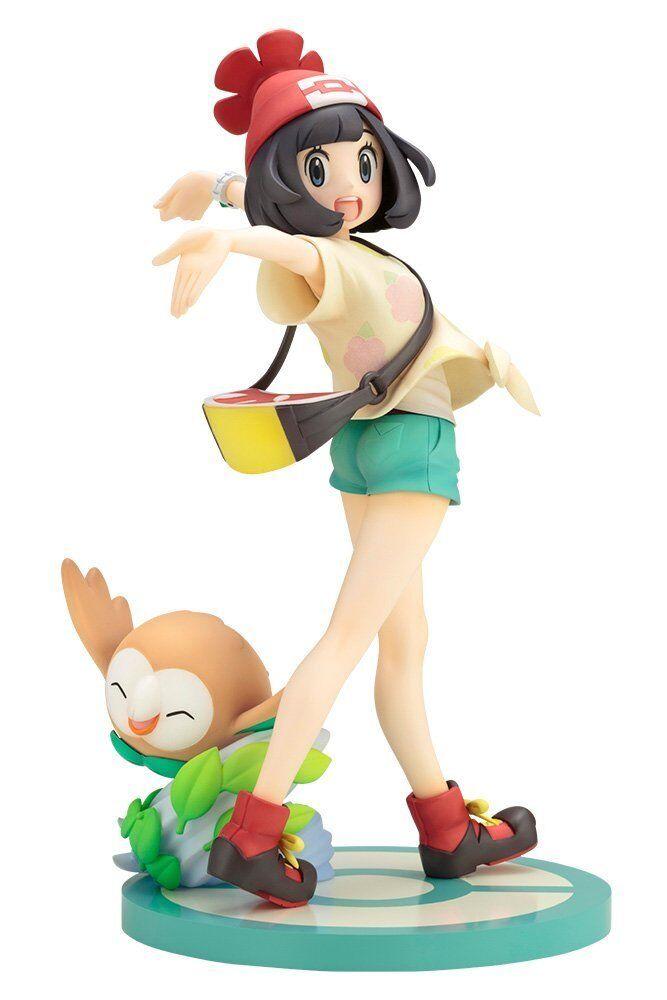 KOTOBUKIYA ARTFX J Pokémon SERIE Mizuki con rowlet 1/8 SCALA VERSIONE JAPAN