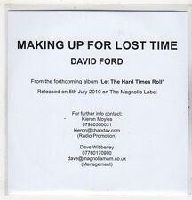 (EV534) Making Up For Lost Time, David Ford - 2010 DJ CD