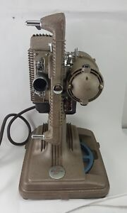 Vintage-REVERE-Model-85-8mm-MOVIE-PROJECTOR-Portable-Case-TESTED-WORKING