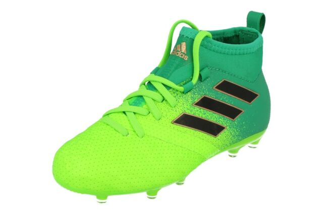 4637a59fe6db adidas Bb0989 Ace 17.1 Kids Football BOOTS in Green or Vorschlagen ...