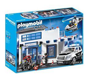 Playmobil City Action 9372. Mega Lot De Police.   Plus 4 Ans