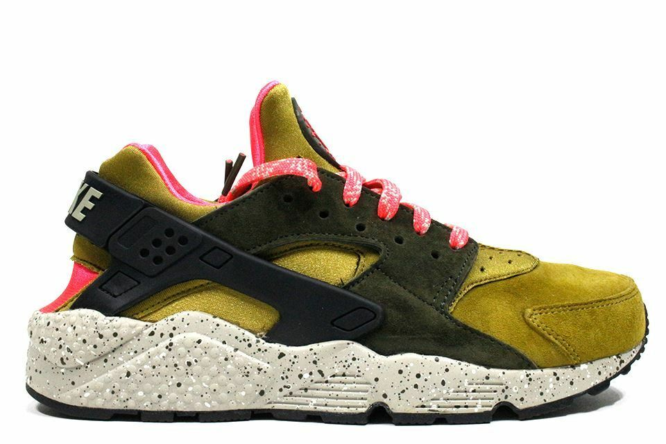 Nike air huarache corsa ridotta deserto moss