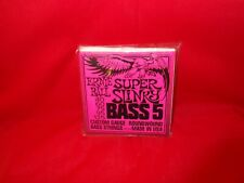 Ernie Ball 2849 Super Long Scale Round Wound Slinky Bass Guitar Strings 45-105
