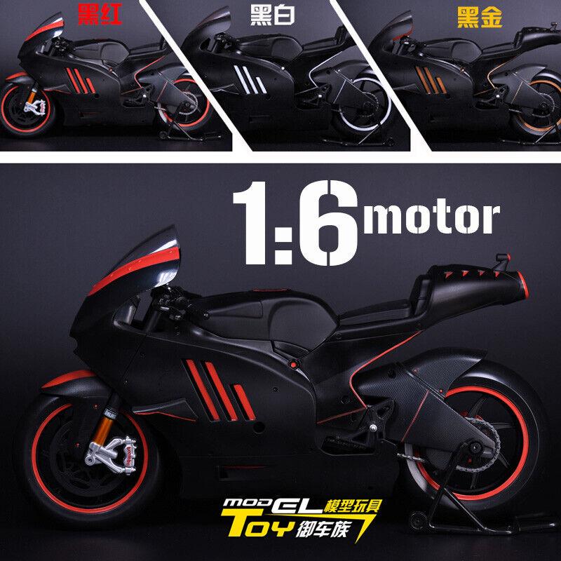 Modelo De Juguete 1 6 Ducati Moto Modelo Negro Rojo recubrimiento Moto F 12  figura
