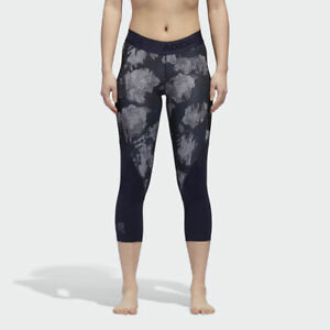 adidas Wmns Alphaskin Sport 3 4 Tights New Legendary Ink Grey Women ... c6708f5d48e