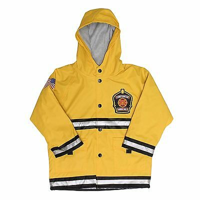 Western Chief Firefighter Rain Coat for Boys - Fire Department Jacket