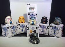 STAR WARS LEGION - Vinyl Stormtrooper Helmet DROID Series 3 - FULL SET + Chaser