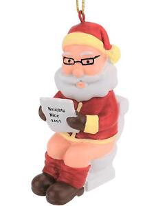 Tree-Buddees-Santa-On-The-Throne-Christmas-Ornament-Xmas-Claus-Fun-Funny-Winter