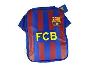 FC-Barcelona-maillot-de-football-ecole-de-design-bleu-sac-rouge-dejeuner-isole