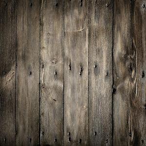 Wooden Floor Thin Vinyl Photography Studio Backdrop Photo Background 3X5FT ZZ26