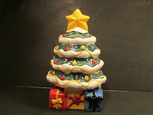 Macys Christmas Tree.Details About New In Box The Cellar Christmas Tree Cookie Jar Ceramic 2002 Federated Macy S
