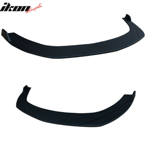 PP IKON Style Fits 10-12 Ford Fusion Front Bumper Lip Splitter Unpainted