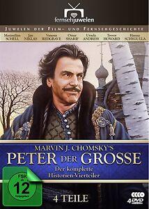 Peter-der-Grosse-Der-komplette-Vierteiler-Maximilian-Schell-4-DVD-NEU-OVP