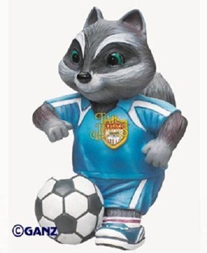 Ganz Ganz Ganz Tail Towns Friends SOCCER PLAYER Collectible Figurine dbe8e7
