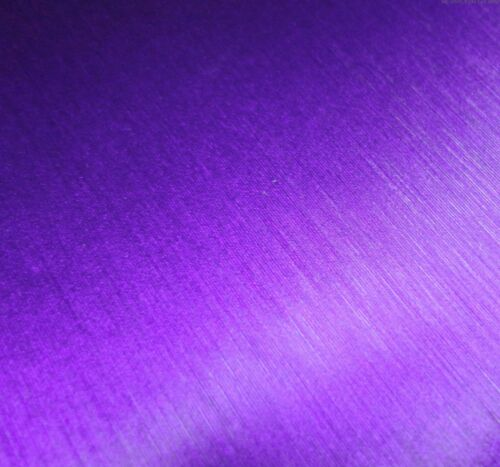 6 colours Multi sizes Brushed Chrome Vinyl Wrap Air//Bubble Free