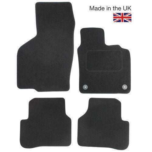 For Toyota Rav 4 2012-2018 XA40 Fully Tailored 4 Piece Car Mat Set 2 Oval Clips