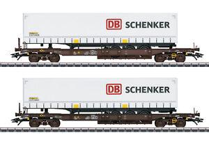 Maerklin-H0-47110-Taschenwagen-Set-d-Rail-Cargo-Austria-034-Neuheit-2020-034-NEU-OVP