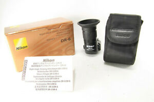 Nikon-DR-6-Right-Angle-Viewfinder-finder-For-Nikon-Excellent-w-Box-Japan
