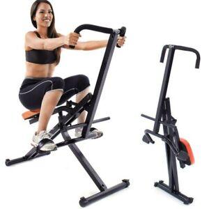 Attrezzo-Total-Fitness-Allenamento-Palestra-Cardio-Addominali-Crunch-Pieghevole