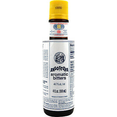 Angostura Aromatic Cocktail Bitters - 4 oz Bottle - Bar Drink Flavor - Mixology