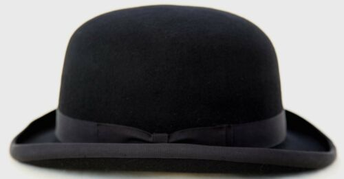Firm top traditional Bowler Hat Size 56cm