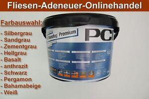 4 20 kg pci nanofug premium 5 kg variabler fugenm rtel easy to clean ebay. Black Bedroom Furniture Sets. Home Design Ideas