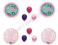 Spa Day Birthday Party Balloons Decoration Supplies Pamper Nails Diva Makeup