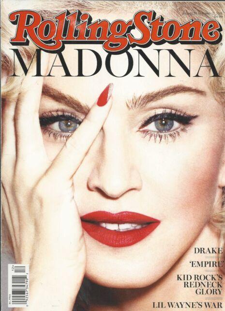 Rolling Stone Magazine Madonna Kid Rock Lil Wayne Canada And Oil Tony Wright